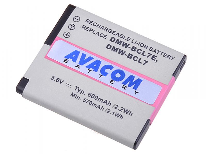 Panasonic DMW-BCL7 Li-Ion 3.6V 600mAh 2.2Wh