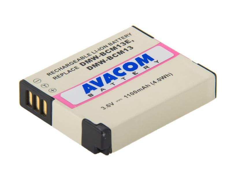 Panasonic DMW-BCM13, BCM13E Li-Ion 3.6V 1100mAh 4Wh