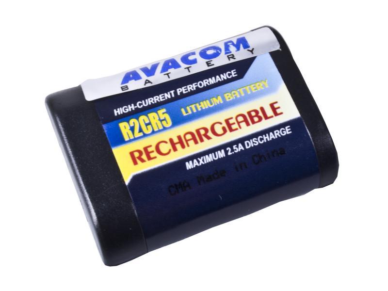 Nabíjecí fotobaterie Canon 2CR5, Kodak KL2CR5, Pentax 2CR5 Li-Fe 6V 500mAh 3Wh