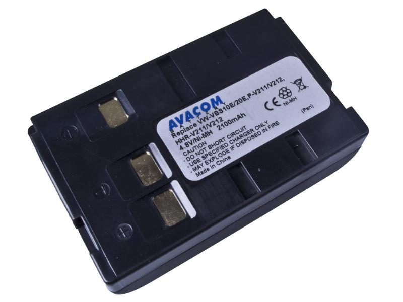Panasonic VW-VBS10E Ni-MH 4.8V 2100mAh 10.1Wh pro starší typy kamer