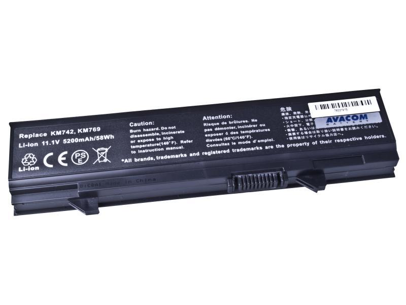 Dell Latitude E5500, E5400 Li-Ion 11,1V 5200mAh / 58Wh