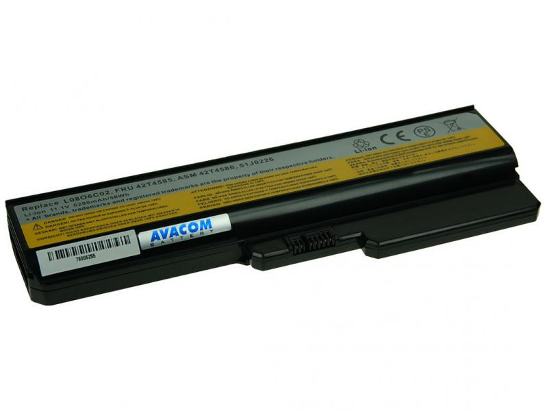 Lenovo G550, IdeaPad V460 series Li-Ion 11,1V 5200mAh/58Wh