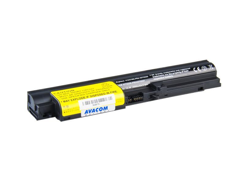 Lenovo ThinkPad R61/T61, R400/T400 Li-Ion 14,4V 2600mAh/37Wh