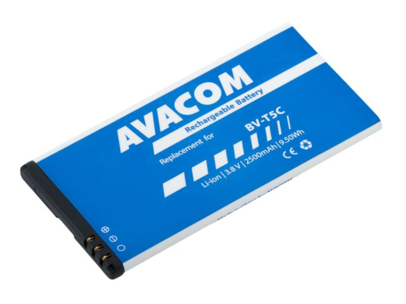 Baterie do mobilu Microsoft Lumia 640 Li-Ion 3,8V 2500mAh (náhrada BV-T5C)