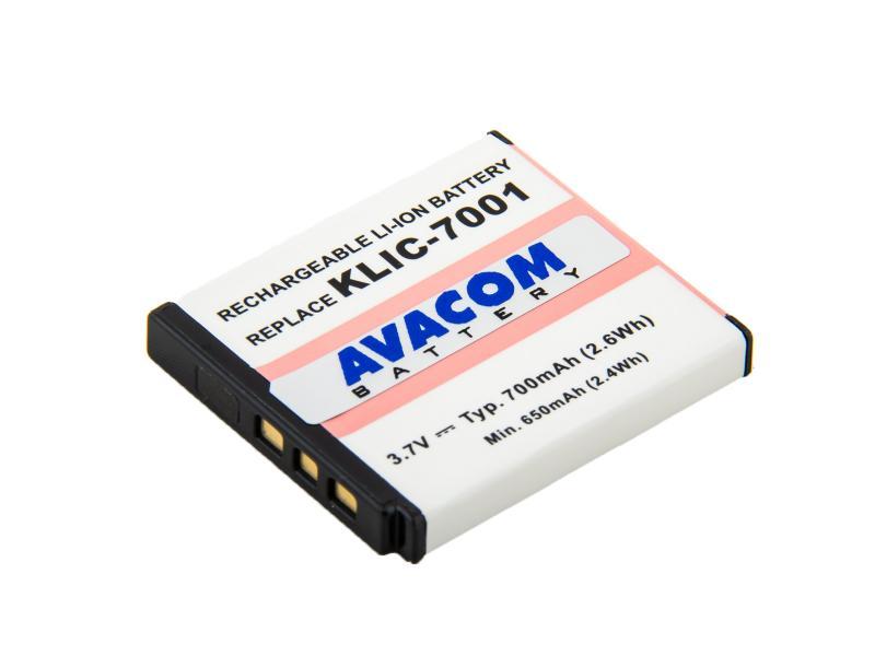 Kodak KLIC-7001 Li-Ion 3.7V 700mAh 2.6Wh