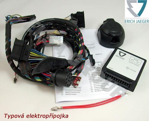 Typová elektropřípojka Peugeot 4008 2012 - , 7pin, Erich Jaeger