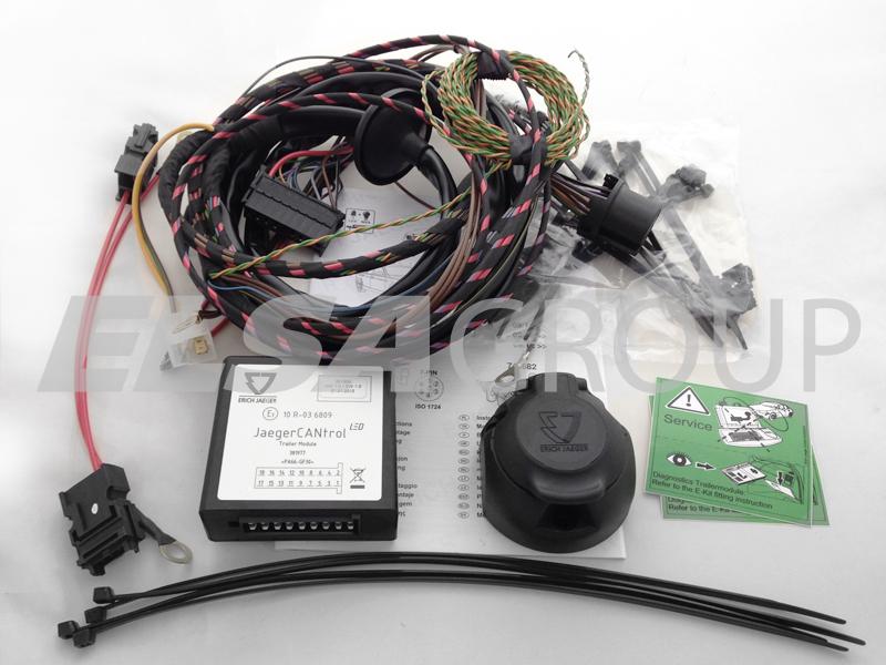 Typová elektropřípojka Toyota Hi-Lux 2/4WD 2005-2010, 7pin, Erich Jaeger