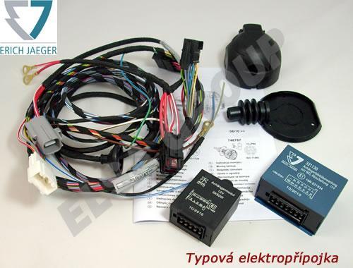 Typová elektropřípojka Kia Ceed ProCeed 3dv. 2007-2013 (ED), 7pin, Erich Jaeger