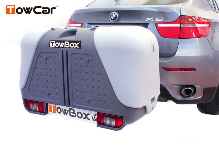 TowCar TowBox V2 šedý, na tažné zařízení