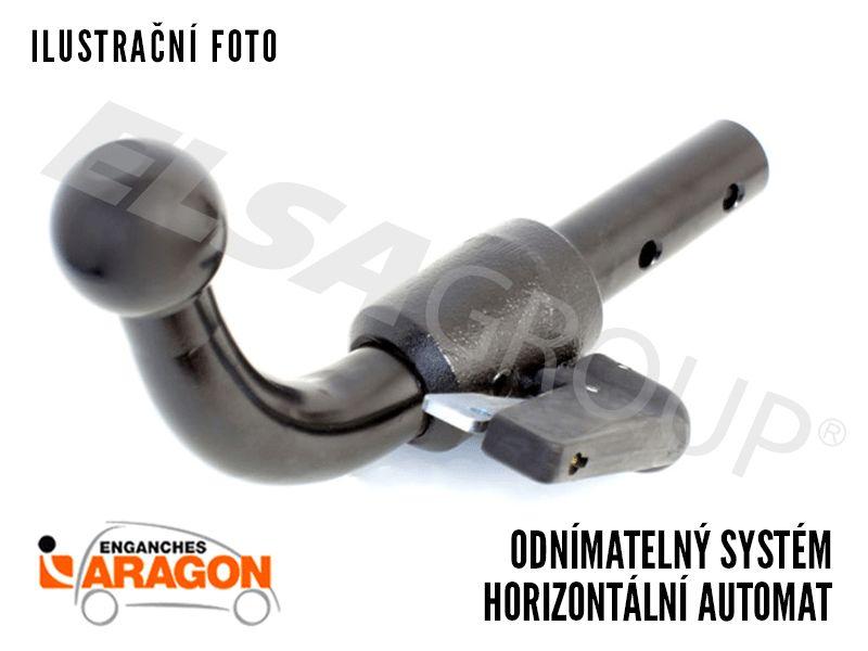 Tažné zařízení Lancia Ypsilon 2011- , odnímatelný bajonet, Aragon