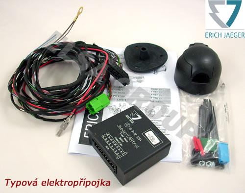 Typová elektropřípojka Kia Sportage 2010-2015 (SL) , 7pin, Erich Jaeger
