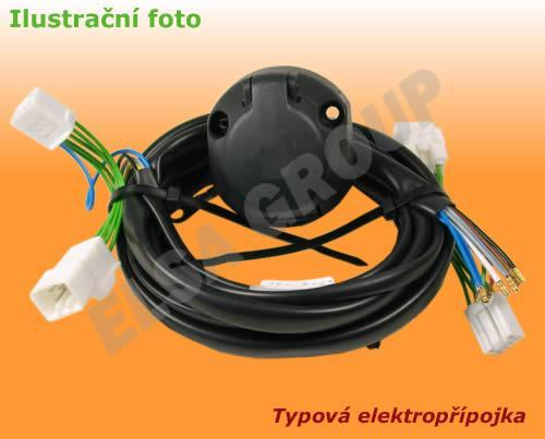 Typová elektropřípojka Subaru XV 2012-2017, 13pin, Erich Jaeger