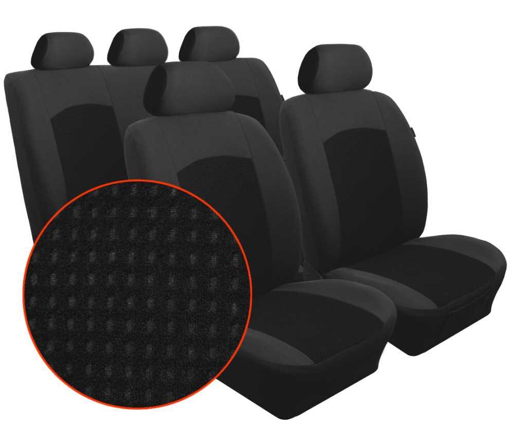 Autopotahy MERCEDES SPRINTER II, 3 místa, od r. 2006, Dynamic velur černý SIXTOL