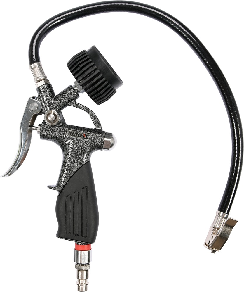 Pistole na huštění pneu s manometrem 6 bar