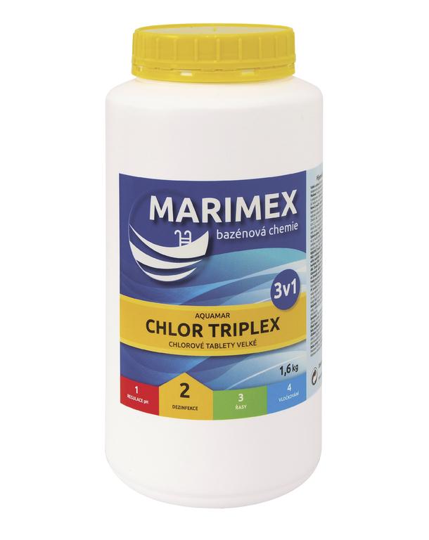MARIMEX Chlor Triplex 3v1 1,6 kg (tableta)
