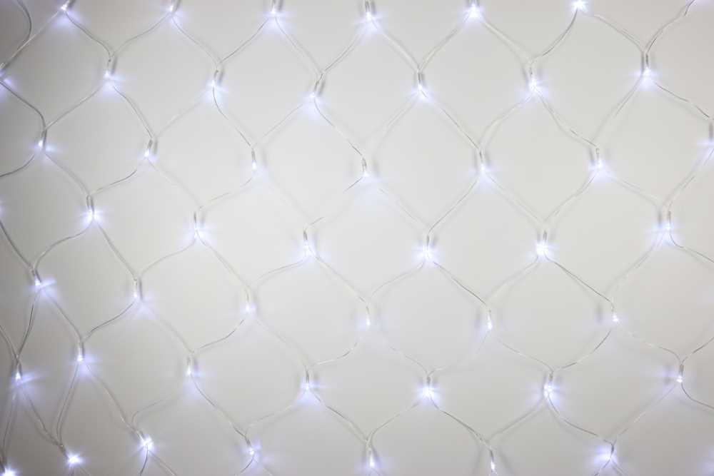 Síť Studená bílá 128 LED