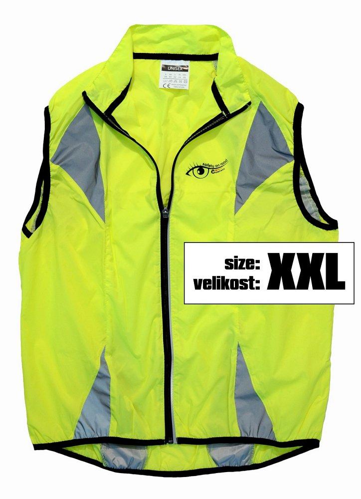 Vesta XXL reflexní žlutá S.O.R., COMPASS