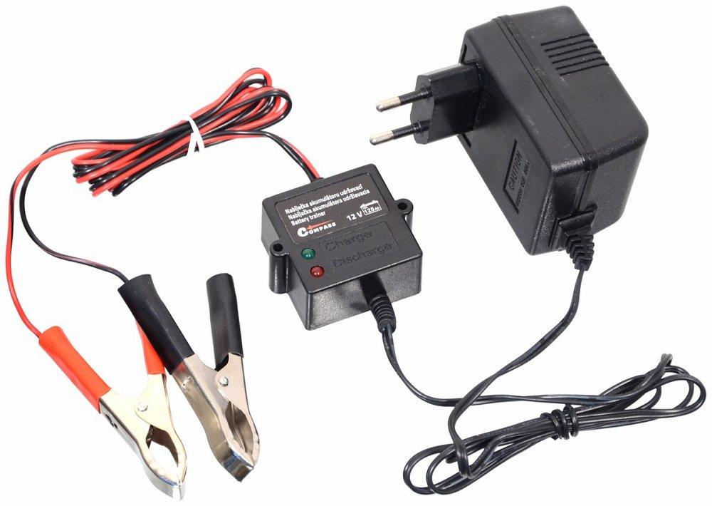Nabíječka akumulátoru udržovací 5-125Ah, COMPASS