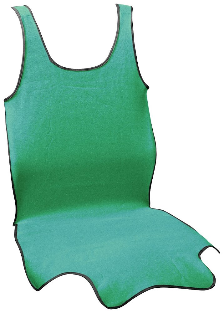 Potah sedadla TRIKO SOFT přední 1ks zelený