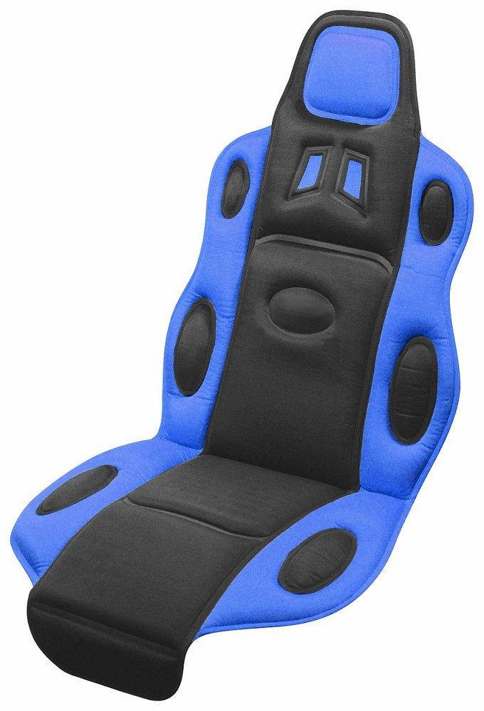 Potah sedadla RACE černo-modrý