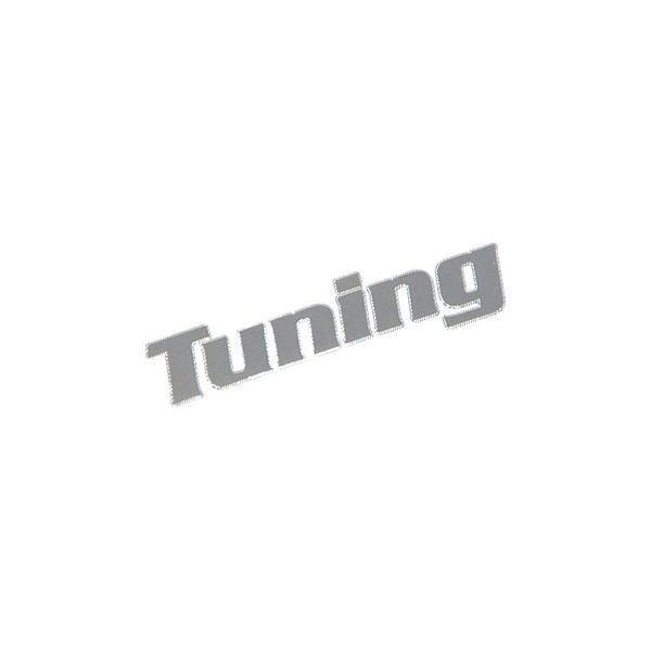 Znak TUNING samolepící METAL malý