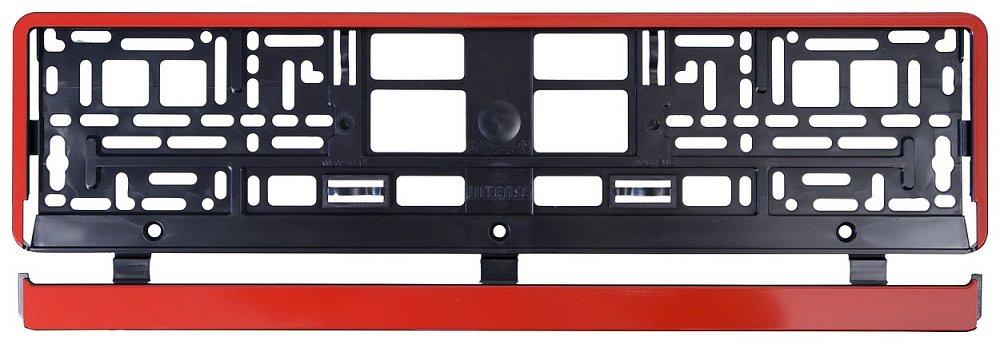 Podložka pod SPZ RED STRIP, COMPASS