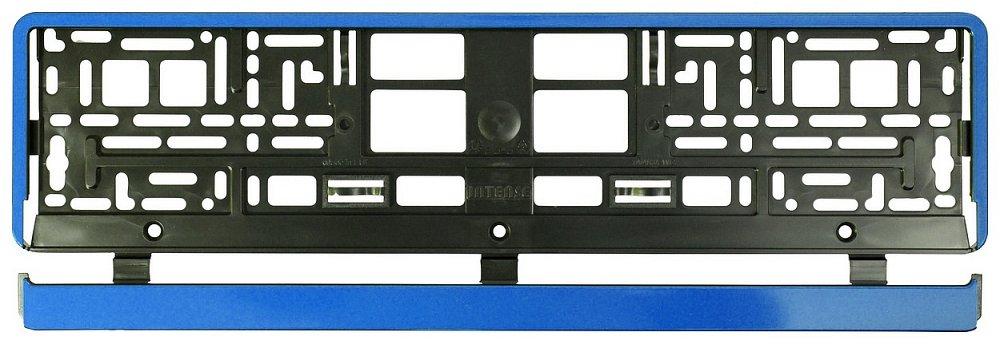 Podložka pod SPZ BLUE STRIP, COMPASS