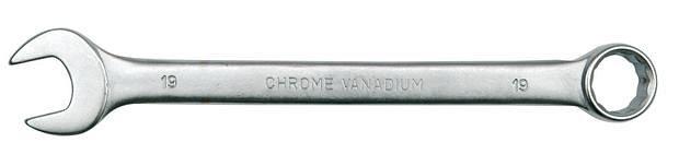 Klíč očkoplochý 17 mm CrV