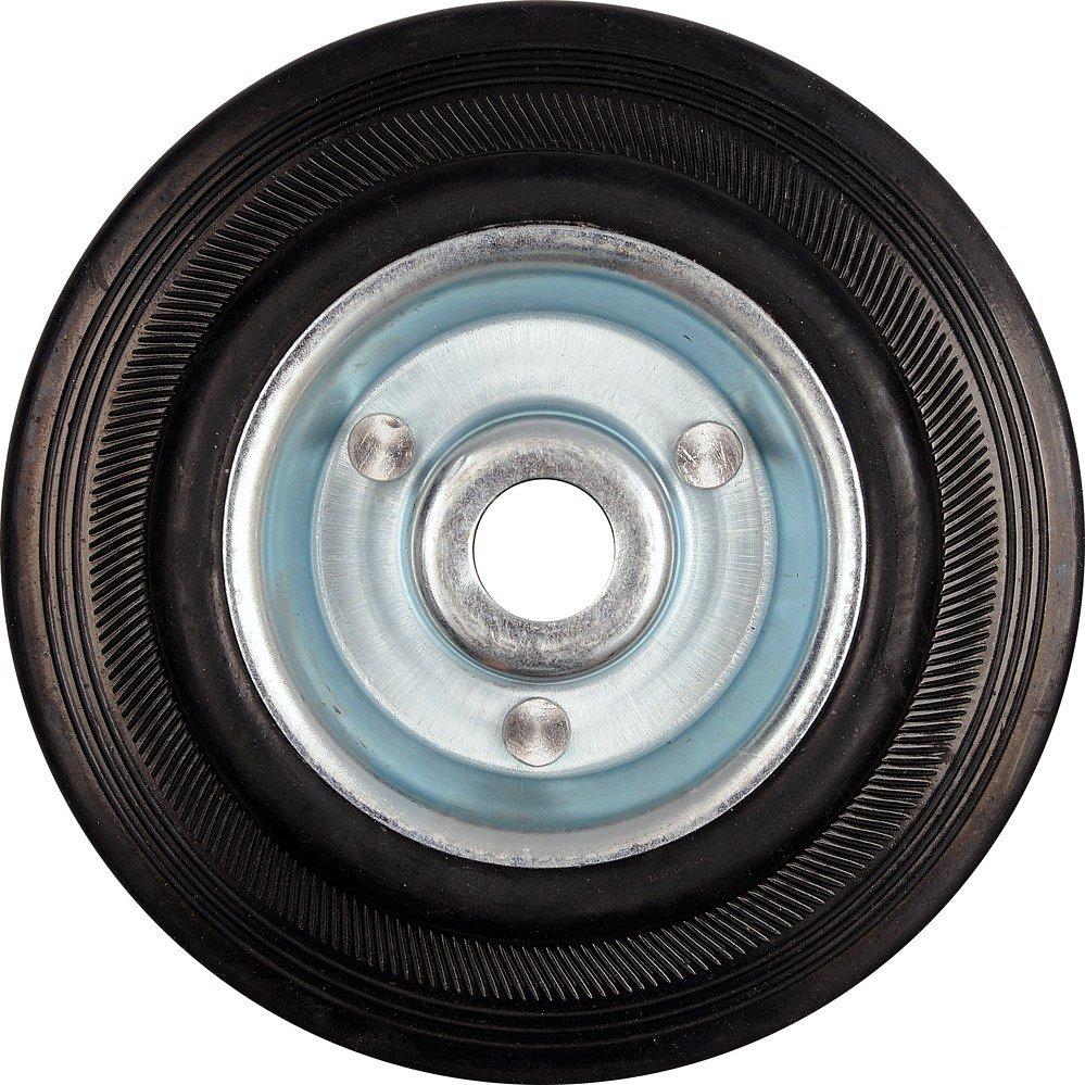 Kolečko gumové černé 110kg 150/39mm prům.20x55mm