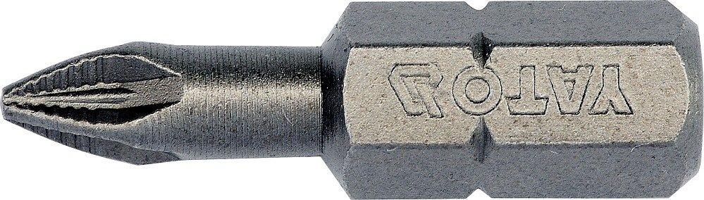 Bit křížový 1/4 PZ1 x 25 mm box NON-SLIP 10 ks