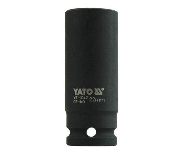 Nástavec 1/2 rázový šestihranný hluboký 22 mm CrMo