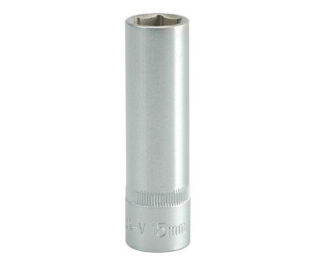 Nástavec 1/2 15 mm šetihranný hluboký