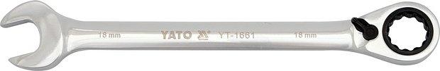 Klíč očkoplochý ráčnový 16 mm