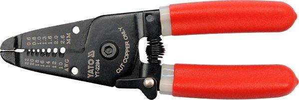 Kleště odizolovací 165mm HRC 50-53 průměr 0,64-2,6 mm