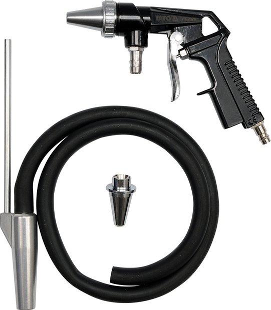 Pískovací pistole s hadicí 1/4 průměr 6,3mm