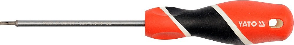 Šroubovák torx s otvorem T30 x 100 mm magnetický S2
