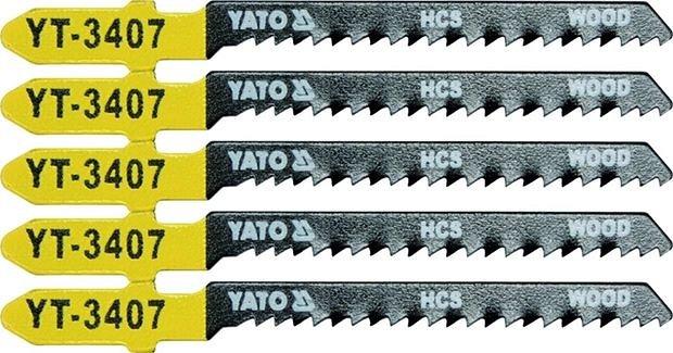 List pilový do přímočaré pily 75 mm na dřevo TPI13 5 ks