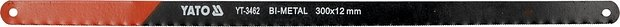 List pilový na železo 300 mm 2 ks Bi-Metal + Co8%