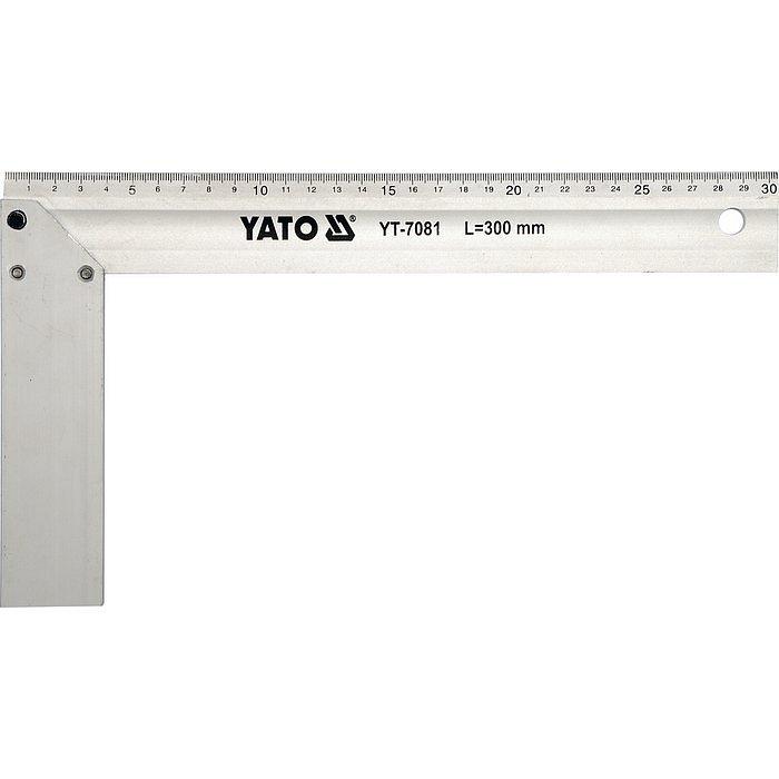 Truhlářský úhelník hliníkový 300mm