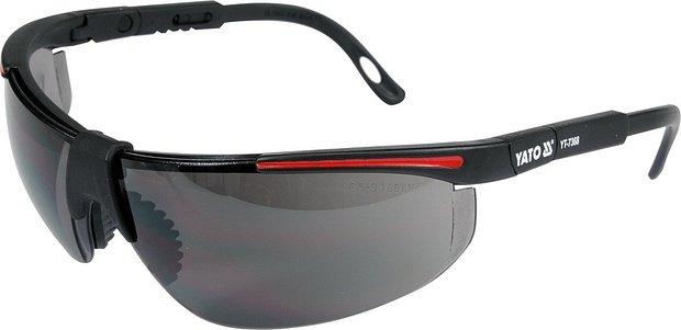 Ochranné brýle tmavé typ 91708, YATO