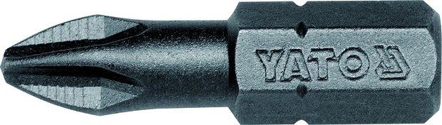 Bit křížový 1/4 PH2 x 25 mm 50 ks