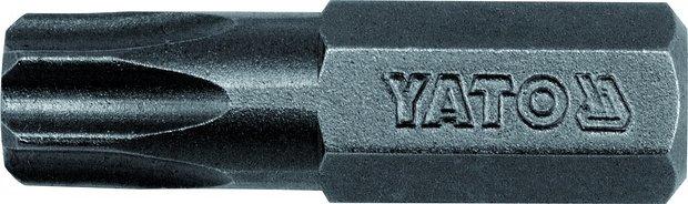 Bit TORX s otvorem 8 mm T45 x 30 mm 50 ks