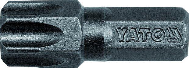 Bit TORX s otvorem 8 mm T55 x 30 mm 20 ks
