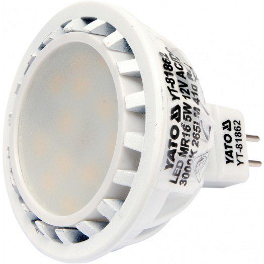 LED žárovka 5W MR16 265 lumen 12V ( 25W )
